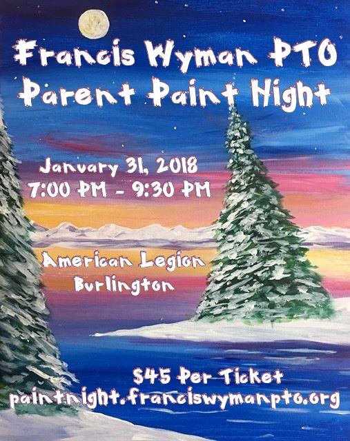Paint Night for Newsletter